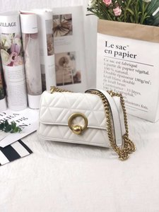 2020 new fashion designer Lingge chain shoulder bag tide Korean version wild messenger ladies bag