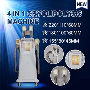 2020 новый Cryolipolysis жира замораживания машина для похудения криотерапии Вес уменьшить 4 Крио ручки могут работать вместе