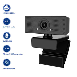 C60 USB HD 1080P Webcam für Computer Laptop 2MP High-End-Videoanruf Webcams-Kamera mit Lärmreduziermikrofon