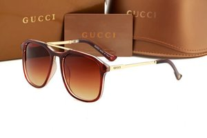 new fashion classic sunglasses attitude sunglasses gold frame square metal frame vintage style outdoor design classical model