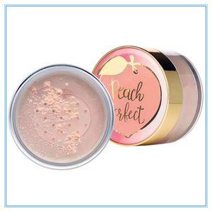 Maquiagem pêssego perfeito matificante rosto configuração solta pó infundida com pêssego e doce 35g de creme fig