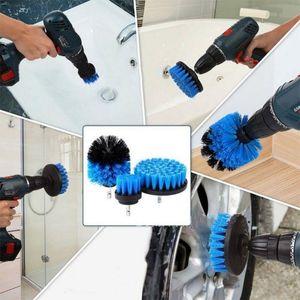Power Scrub Brush Drill Pennello per la pulizia 3 Pz / lotto per bagno Doccia piastrella Grout Bilancio Bilancio Spabber Drill Allegato Brush JXW170