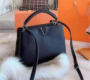 2020 Капуцинов BB M94755 черный мешок конструктора сумки кошельки классические моды одного плеча мешок Кроссбоди сумка сумки