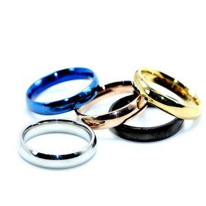 Designer Ring Blank Ring Women Silver Glod Blue Band Rings Fashion jewelry wedding jewelry