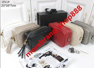 Qualitäts-Frauenhandtasche Geldbeutel Crossbody Soho-Tasche Disco-Umhängetasche mit Fransen Tasche Purse