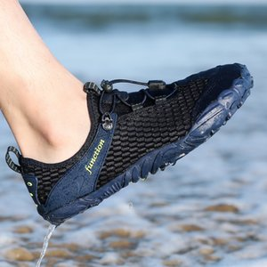 Mesh Swimming Sneakers Outdoor Sports Diving Water Shoes Men Women Beach Surfing Slippers Quick-Drying Upstream Braathable Shoes