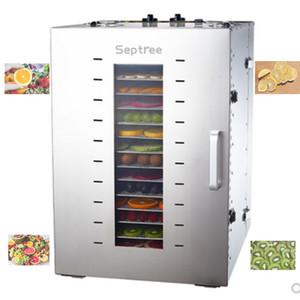 Secador Food Dehydrator Fruit Vegetabl máquina de secagem Snacks Meat Food 16-Layer Stainless Steel Dry Fruit Machine