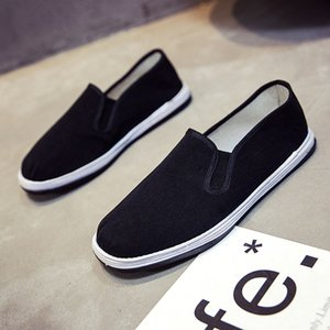 Одиночные туфли на плоской подошве из натуральной кожи Man Light Thin Anti Skidding Мягкая подошва Удобная износостойкая горячая распродажа 5 5yff1