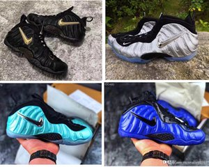 Mens Penny Hardaway pro basketball shoes for sale youth kids foam black gold blue red Alternate Galaxy 2.0 boots with original box