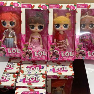 5,5 polegadas 6 Estilo Cute Dolls 24pcs / caixa Figuras de Ação Brinquedos Os melhores presentes para crianças Brinquedos