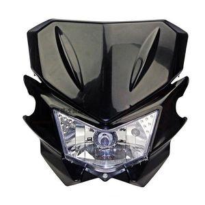 12V 35W Universal Street Fighter Headlight Headlamp Fairing kit For KAWASAKI YAMAHA SUZUKI HONDA KTM Dirt Bike Motorcycle