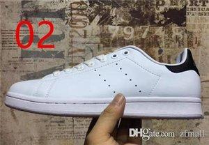2018 nuovi originali Stan Smith Scarpe Donna Uomo Sneakers Superstars scarpe Skateboard Bianco Blu Stan Smith Casual pelle zfmall