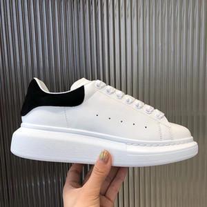 2019 mais de alta qualidade Moda Mulheres sapatos casuais couro real com as séries Sapatilhas Número Chaussures Sports Trainers 36-46