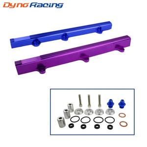 New Fuel Rail For Honda Civic Integra Dohc B16 B18 B-Series Aluminum Feed Injector Fuel Rail Kits Fuel Supply TT100798