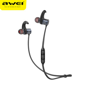 AWEI AK1 Wireless Bluetooth Earphone Sport Headset Magnetic Control Microphone 3D Stereo Waterproof Casque Earphones For Phone