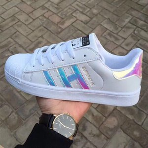 2019 size36-44 Hot Sale Fashion Men Casual Shoes Superstar Female Sneakers Women Zapatillas Deportivas Mujer Lovers Sapatos Femininos shoes