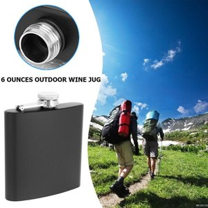 Portable Flagon Laser Seamless Welding Drinkware Pot Matte Mini Stainless Steel Hip Flask for Outdoor Travelling Decoration