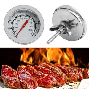 Barbecue Thermomètre canard rôti Thermomètre écrou hexagonal en acier inoxydable Four bimétallique Grill Roast Duck four Thermomètre Outils pour barbecue Accessoires