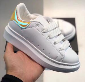 2020 wholesale cut Low Casual Trainer Children Boy Girl Kids Skate Sneaker Fashion Sport Shoes size24-35