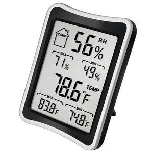 Meter grande schermo a cristalli liquidi Ambiente Igrometro termometro digitale di temperatura di umidità interna Elettrodomestici termometro e igrometro DBC VT1144