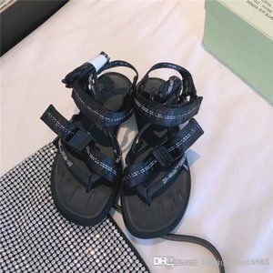 Ladies summer atmospheric silk bowknot sandals colorful Seven colors open toe breathable casual sandals Full set of high-end packaging