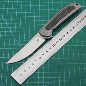 açık dağcılık cebi meyve bıçağı EDC aracı erkekler Ch avcılık bıçak titanyum karbon fiber sap kamp s35vn Yeni yx635 katlama bıçak