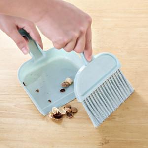 Herramienta de limpieza para la casa de barrido Mini cepillo de limpieza de escritorio Pequeña escoba recogedor Set mini escoba de la fregona juguetes para el cabrito