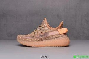V2 Bebek LED Işık Up Işıltılı Çocuk Koşu ayakkabıları Kanye West Statik Kil Hiperuzay Bebek Boys Kız Çocuk Statik Eğitmenler 11C-3Y