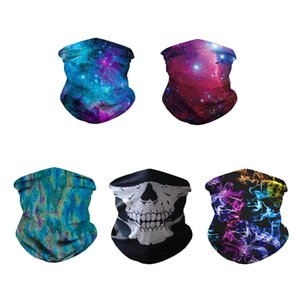 SOURCE Factory Direct Starry Digital Printing Outdoor Insect Mask Multi-Purpose Brimless Cap Printing Magic Scarf