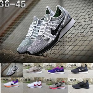 2019 Air Zoom Mariah Racer Running Shoes For Mens Womens Racer 2.0 MultiColor String Femme Homme Sports Walking Shoe PP9F0