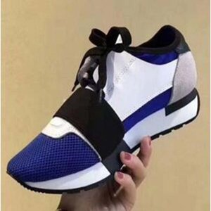 Popular Designer High Quality Man Woman's Fashion Low Cut Lace Up Breathable Mesh Sneaker Shoe Outdoors Race Runner Casual Shoe z7x
