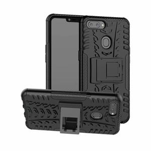 6,2 pouces pour OPPO A5 Case Heavy Duty armure anti-choc dur hybride silicone souple robuste en caoutchouc cas de téléphone pour OPPO A5 Couverture