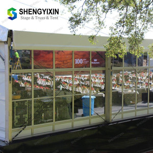 In sale High quality Aluminum temporary modular reception Outdoor Waterproof Promotional Display marquee wedding tent wholesale