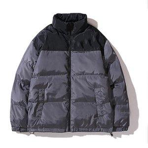 Warme Daunenjacke Herren Parkas Jacke Männer-Frauen-Qualitäts-Straße Männer Warme Jacken Oberbekleidung Schwarz Grau Winter-Mann Coats