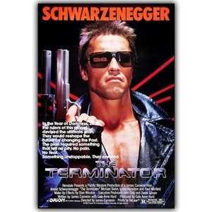 Terminatör T-800 Ev Dekorasyon Duvar kağıdı 30x45cm 50x75cm Of Arnold Schwarzenegger İpek Baskı Posterler