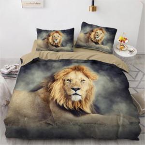 3D Bedding Sets Lion Camel Duvet Quilt Cover Set Comforter Bed Linen Pillowcase King Queen Full Size 230*265cm Home Texitle