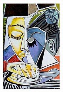 Pablo Picasso Art Home Decor pintado à mão HD impressão pintura a óleo sobre tela Wall Art Canvas Pictures 191202