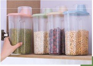 Haushalt Transparent Korntank Küche Lebensmittel Trockenfracht-Aufbewahrungsbehälter aus Kunststoff wasserdicht versiegelt Grain Tanks OXS 001