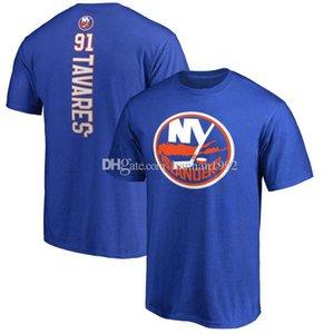 New York Islanders Mens Designer T Shirt fãs Black Red White Tops do T da forma T-shirt de algodão de manga curta Impresso Logotipos