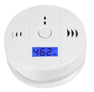 CO testeur de monoxyde de carbone Alarme Avertissement Capteur Détecteur de gaz Détecteurs Empoisonnement d'incendie Écran LCD Sécurité Surveillance Accueil Alarmes de sécurité