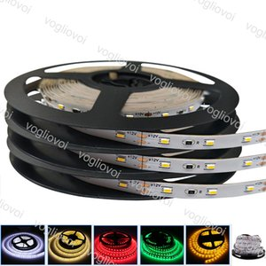 Led Strip Light SMD 3014 DC12V 300LED Round 2 wire Warm White Dimmable Flexible Ribbon Waterproof Super Bright LED Lights DHL