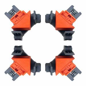 Travail du bois 4pcs 90 degrés à angle droit de serrage rapide clip Photo Cadre Serre-joint