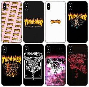 [TongTrade] Thrasher Örnek iPhone 11 Pro En x XS 8 7s 7 6s 6 5 Samsung A3 S10 Huawei 10 P20 P30 Pro Xperia Z4 Moda Örneği Mate 8S