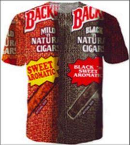 2019 Hot Sales Big Yards T-Shirt Men's Backwoods 3D T-Shirt Summer Clothes TShirt DRW053