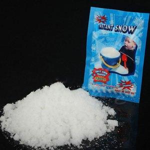 1 пакет Искусственный Снежинки снег Дополнение Слизь Наполнитель для Slime Polymer Сложение Slime Аксессуары Лизун для елочных игрушек