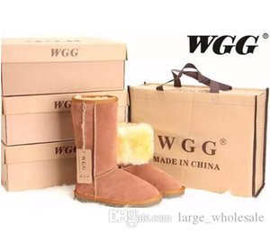 FREE SHIPPING High Quality WGG Women's Classic tall Boots Womens boots Boot Snow Winter leather boots US SIZE 5---13 flat shoes
