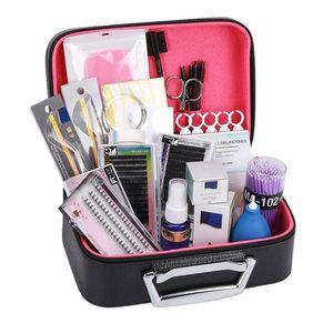 22Pcs Set Eyelash Extension Set Special Grafting Eyelash Set For Beauty Salon No Stimulating Glue Easy Grafting Eyelash Tool