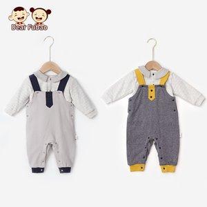 Roupa do bebê recém-nascido menina Set traje Conjuntos de Inverno manga comprida infantil Childern Two Piece Crianças Boy Vestuário Criança