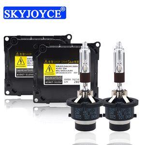 35W Yeaky D2S D4S Xenon HID Original Kit Yeaky 5500K D2S D2R D4S D4R ampoule HID OEM 85967-51050 35W 55W Kit Ballast