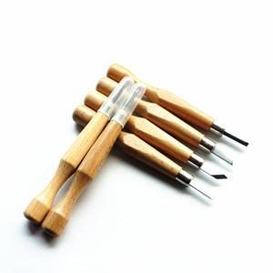 Professionale 12Pcs / set Legno Manuale di scultura a mano scalpello Tool Set carpentieri del legno che intaglia il legno intagliare Scalpello mano fai da te CNC strumento